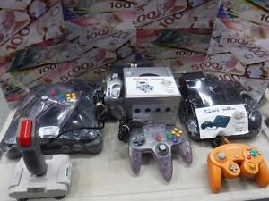 CALLING ALL GAMERS! WE BUY RETRO CONSOLES AND GAMES FOR INSTANT CASH! COME IN TODAY!