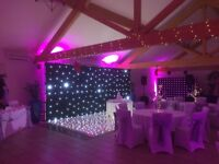 Sound & Light specialists, providing for weddings, birthdays, celebrations and corporate events.
