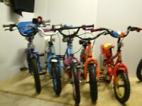 kids bikes in very good condition £15