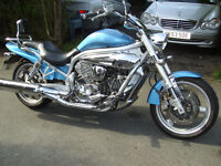 hyosung gv 650 in good condition, very low mileage.