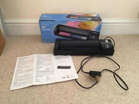EXCELLENT CONDITION WH SMITH A4 PAPER CARD HOT LAMINATOR IN BOX WITH INSTRUCTIONS A5 B5 OFFICE EQUIP