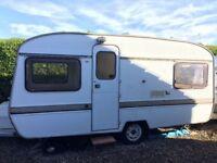 1979 Eccles 4 berth vintage caravan