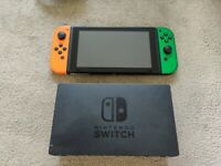 Hardly used Nintendo Switch