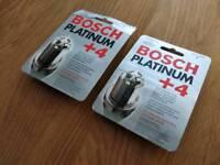 Bosch Platinum Multispark Plugs Fits Honda V-twin