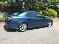 Saab 9.3 Vector Sport TDI - cheap automatic - leather seats -new battery - new oil change