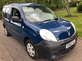 """1.5 DIESEL """"1 OWNER """"FULL HISTORY """" NEW SHAPE REANULT KANGOO MPV IMMACULATE CONDITION"""