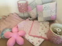 Children's Bedroom Soft Furnishings Bundle - Next