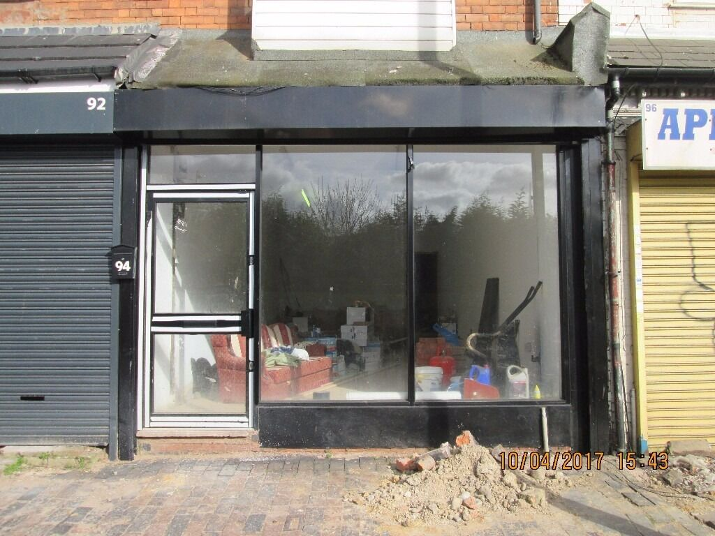 **SHOP TO LET** **NEW SHOP FRONT** **CALL NOW** **ELECTRIC SHUTTERS***NEWLY REFURBISHED**STONEY LANE