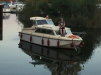 Relcraft Sapphire 23 ft Cabin Cruiser Boat