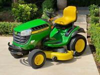 """John Deere X165 Ride on mower - 48"""" Mulch deck - lawnmower - Honda / Kubota / Toro"""