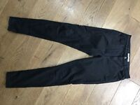 Topshop Leigh jeans black - W30 L32