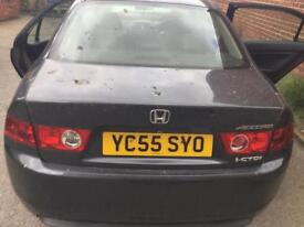 Honda Accord 2.2i ctdi rear bumper