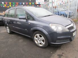 VAUXHALL ZAFIRA 1.6 CLUB **IDEAL 7 SEATER**CHEAP TO INSURE**VERY ECONOMICAL**