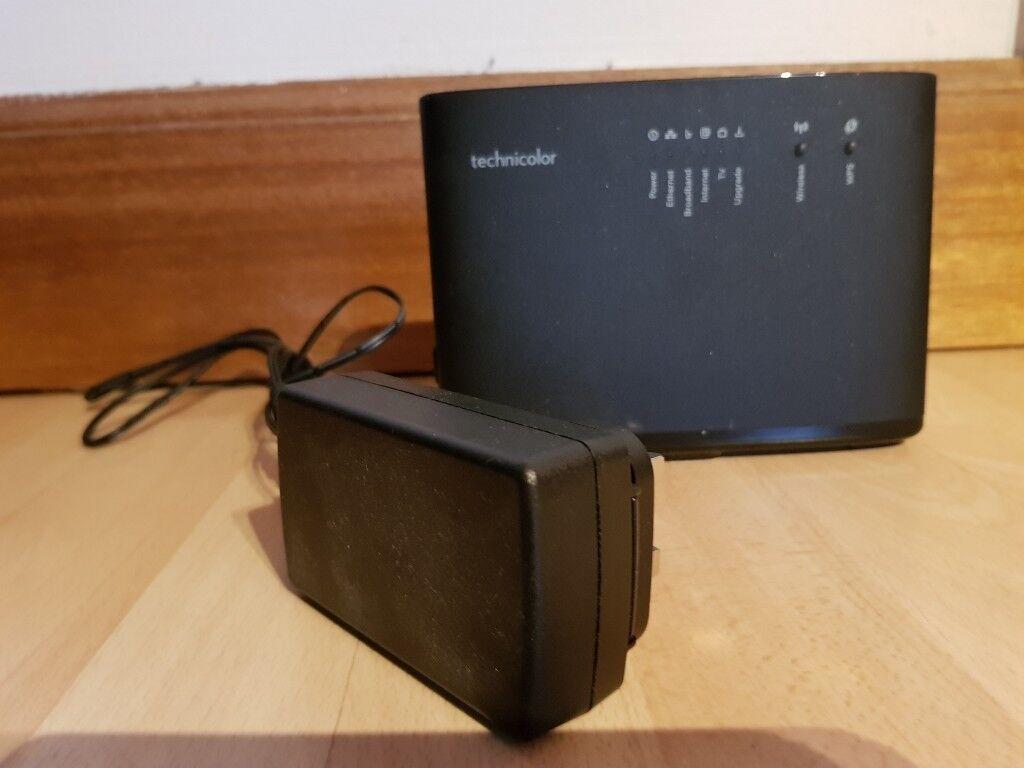 Technicolor TG588V V2 ADSL VDSL router | in Dalgety Bay, Fife | Gumtree