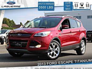 2013 Ford Escape TITANIUM**AWD*CUIR*TOIT *NAVI*CAMERA*A/C**