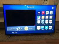 "48"" Panasonic Smart 4K Ultra HD LED TV with Built-In WiFi and Freeview HD"