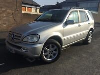 MERCEDES ML 270 CDI 1 YEAR MOT 07425221105