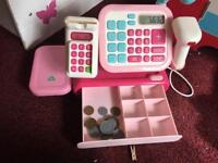 Kids Kitchen with Play Food & Cash Register