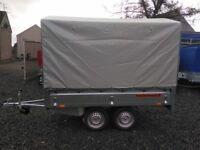 CANVAS COVER 4 DROP SIDES FLATBED TRAILER 8.2 X 5