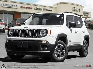 2016 Jeep Renegade SPORT | 4X4 | X COMPANY DEMO | BACK UP CAM |