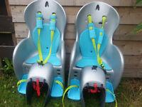 2 X B'twin bike child seat
