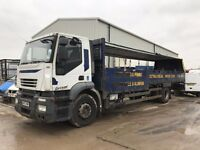 iveco starlis lorry 18t dropside 2008reg for sale