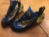Rock climbing shoes size 9 uk