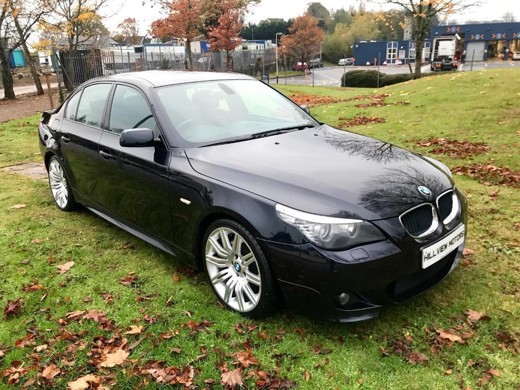 Bmw 520d M Sport 2009 Full Leather 19quot Spiders Finance