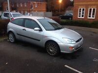Ford Focus NO M.O.T but in working order can drive away today I have the newer model hence the sale