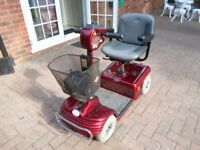 SHOPRIDER DELUXE MOBILITY SCOOTER IN EXCELLENT CONDITION 2 X 34Ah NEW BATTERIES JUST FITTED
