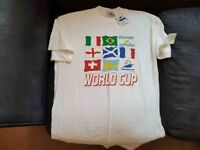 FRANCE WORLD CUP LARGE T-SHIRT BRAND NEW WITH TAG
