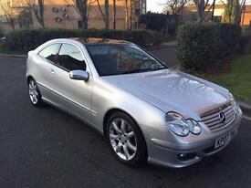 2007 Mercedes c180 auto pan roof!! 46k FSH