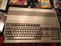 Amiga 500 and games.