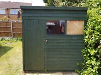 Garden Shed. Dry and in good condition. 7x5