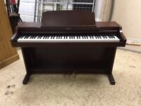 Technics SX-PX552M Digital Piano, mahogany, full size 88 weighted keys, sampled off a Steinway grand