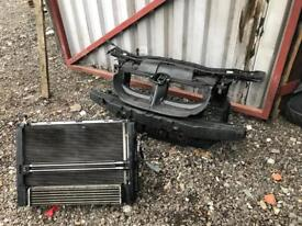 Bmw e92/e93 320d front slam panel with complete radiator pack