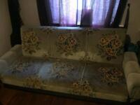 Retro sofa bed - slightly damaged so open to offers