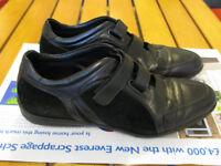 Gianfranco Lattanzi sneakers, black, size 8.5UK
