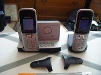 SIEMENS HOME PHONE WITH ANSWER MACHINE