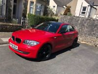 Bmw 1 series low mileage red colour