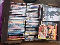 DVDs joblot