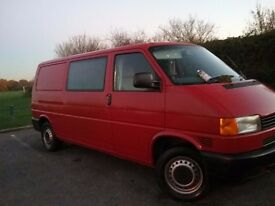 VW TRANSPORTER IDEAL FOR CAMPER VAN 1 OWNER ONLY 79K COMPREHENSIVE SERVICE HISTORY EX COND