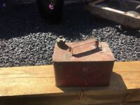 Vintage Old Petrol Can- delivery available