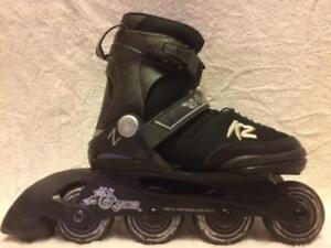 Kid's K2 Raider SL Inline Skates (Rollerblades) 70mm/80A ABEC-3 Adjustable Sizes 1 to 4