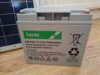 2 x Golf cart batteries - £20 each