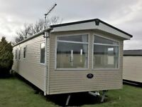 Static Holiday Caravan to hire at Durdle Door Holiday Park on the Jurassic coast 3 bed sleeps 8