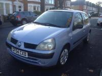2004 AUTOMATIC RENAULT CLIO 1.4 WITH LONG MOT QUICK SALE