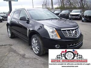 2015 Cadillac SRX SRX4 PREMIUM COLLECTION 4X4 V6 BALLON OK EN MA