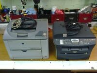 2 X PRINTER AND COPIERS