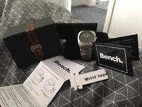 Men's bench watch